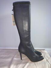 Jimmy Choo knee high 'Grand' high heel boots, size 38.5, RRP £850