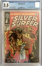 SILVER SURFER #3 - CGC VG- (3.5) 1ST APP MEPHISTO  (CENTS)  ** KEY ISSUE **