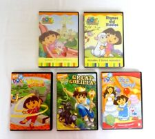 Lot of 5 Dora & Diego DVD - It's A Party - Rhymes and Riddles - Great Gorilla