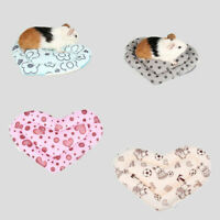 Small Animal Mini Pet Bed Soft House Nest Pad Cage for Hamster Rat Guinea Pig