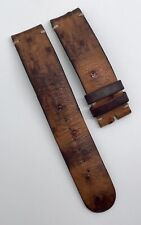 Authentic Ressence Type 1 Brown Ostrich 20mm x 20mm Watch Strap Band OEM