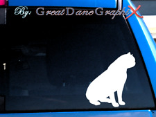 Exotic Shorthair Cat #2 -Vinyl Decal Sticker -Color -High Quality