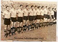 Borussia Dortmund + Deutscher Fußball Meister 1963 + Fan Big Card Edition F27 +