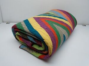 The Company Store Pinnacle Full/Queen Quilt Multi-Color Item #3023KCZ C1P5