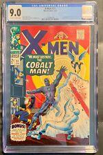 """X-Men #31 CGC 9.0 """"WE MUST DESTROY.. THE COBALT MAN!"""""""