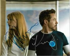 "ROBERT DOWNEY JR & GWYNETH PALTROW ""Iron Man"" 8 x 10 Signed Photo HOLO COA"