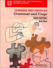 Cambridge First Certificate Grammar and Usage Student's Book (Cambridge First Ce