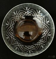 VTG Schott Zwiesel Crystal Tiffany Cut Serving Bowl 7"