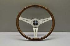 NARDI ND CLASSIC 360MM WOOD Silver Anodized Spoke Steering Wheel - 5061.36.1000