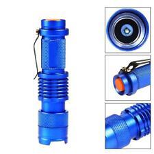 Bright 3500 LM Ultrafire SK68 Q5 Mini LED Flashlight Bike Lantern Blue DI