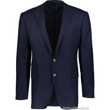 Ralph Lauren Cashmere Azul Marino Blazer Chaqueta US/UK42R IT52R $5150 Purple Label NUEVO