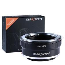 K&F Concept Adapter, Pentax K PK Objektive auf Sony E NEX a6000 a5000 a7 a7r a7s