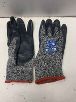 12 Pairs SHOWA GLOVES Size 2XL Cut Resistant Gloves,Salt/Pepper 230-11