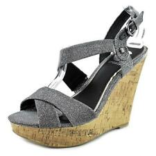 Calzado de mujer sandalias con tiras G by GUESS plata