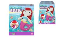 Childrens Sewing Kit - Make Your Own - Felt Mermaid  - Sewing Craft Kit
