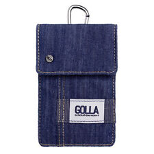 Golla Blue Phone Case Pouch Bag for iPhone 4s 5s Samsung Galaxy S2 S3 Mini