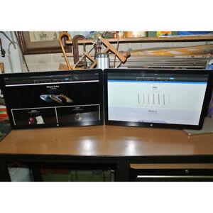 "2 x Apple 27"" Thunderbolt Cinema Displays VESA Adapters & Dual Monitor Stand"