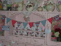 SHABBY CHIC WOODEN BUNTING MADE USING CATH KIDSTON DESIGNS NURSERY BOY SOLDIER
