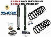 FOR PT CRUISER 2.0 2.4 2.2 2000-> 2X REAR SHOCK ABSORBER SET + 2 x COIL SPRINGS
