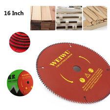 16 Inch Carbide Tipped Circular Saw Blade For Wood Cutting 40 Teeth Woodworking