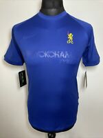 Nike Dri-Fit Chelsea FC Blue Football Training T Shirt Tee #9 Youth XL BNWT