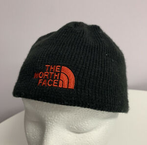 The North Face Black Beanie Hat Cap. Youth/Junior Small