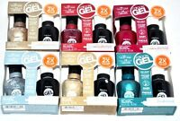 NEW Sally Hansen Miracle Gel Polish No Light Needed Color + Top Coat Set CHOOSE