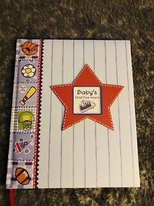 Baby's First Five Years - Keepsake Memory Book (Sports theme)