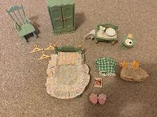 Sylvanian Families Pale Green Furniture Set