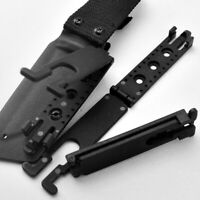 Molle-Lok Tactical Kydex K Sheath Waist Clip For Scabbard Holster Molle Backpack
