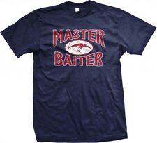 Master Baiter- Lure Fishing Outdoors Funny Slogans Statements -Men's T-shirt