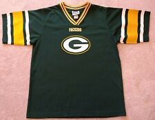 Green Bay Packers Youth XL Blank Touch Down Club Jersey Vintage