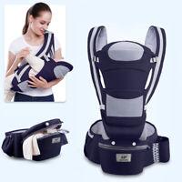 0-48M Ergonomic Baby Carrier Infant Baby Hipseat Carrier Front Facing Kangaroo D