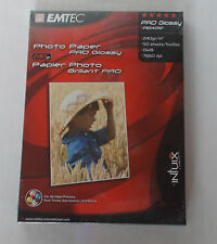 EMTEC PB240NF PHOTO PAPER PRO GLOSSY BRILLANT 13X18 240G 50 FOGLI