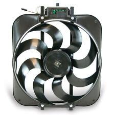 FLEX-A-LITE 15in S-Blade Electric Fan w/Temp Control P/N - 160