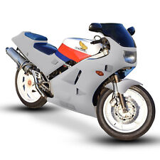 Unpainted ABS Plastic Motorcycle Fairing Kit - Honda VFR 400 (NC24) 1987-1988