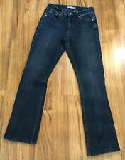 "CHICOS PLATINUM Womens Size 0 Denim Medium Blue Jeans 5 Pocket 28""x30"""