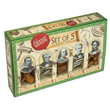 Great Minds Men's Set of 5 Puzzles by Professor Puzzle