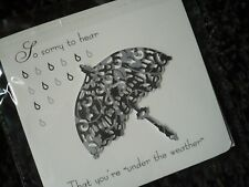 GET WELL SOON CARD, PERSONALISED WITH ANY NAME.