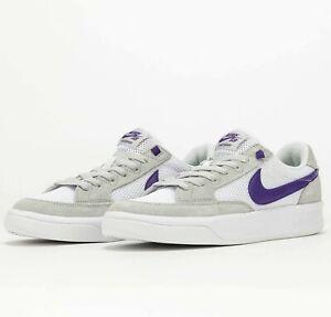 Nike SB Zoom Adversary Grey Fog Court Purple CJ0887-003 Skate Shoes Sneakers