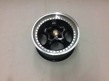 Porsche Veloce Split Rim Alloy 18 x 9.5JJ - Black - New Unused - Ex Demo