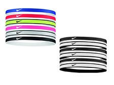Fasce per capelli Nike Elastici da Tennis Hairbands Silicone vari colori 6 pezzi