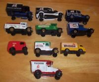 10 Model Sturdy Vans With  Made in Great Britain, Good Clean Condition
