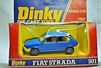 Dinky 501 Fiat Strada / Ritmo in Box Scale 1:43 Made in France