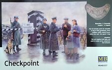 """MASTER BOX�""""� 3527 WWII Checkpoint in 1:35"""