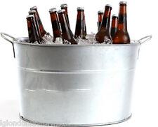 9L BEER metal Basket bottle cooler with bottle opener RRP £14.99