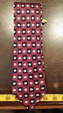 Pfizer Red Blue Novelty Designer Mens Necktie Free Shipping