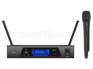 IBIZA UHF Wireless Microphone System WIRELESS RADIOMICROFONO handheld ,NUOVO