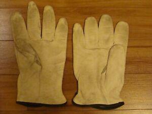 Leather Work Gloves XL