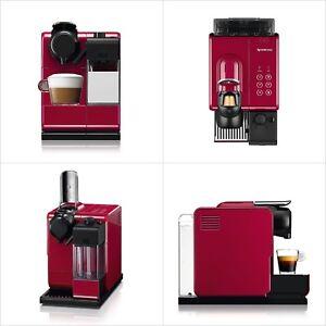 Nuovo F511RE Nespresso Caffè Maker Ratishima Tocco Rosso Da Giappone